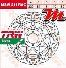 Disque de frein Avant TRW Lucas MSW 211 RAC pour Aprilia RS 125 Alitalia 2011-