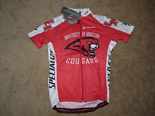 Hincapie Mens Cycling  Short Sleeve Jersey Red & White Large New
