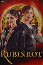 RUBINROT - A3 Poster (ca. 42 x 28 cm) - Film Plakat Clippings Fan Sammlung NEU