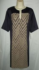 Connected plum/biege career day to night dress 22W NWT 96.00