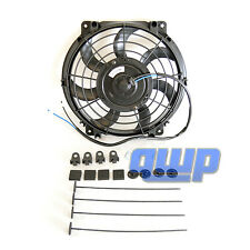 "New 10"" Inch Universal Slim Fan Kit for Radiator Cooling Push or Pull 3670 6370"
