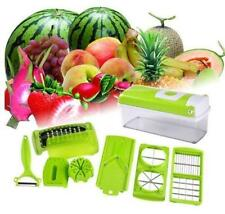 12 PC Super Slicer Plus Vegetable Fruit Peeler Dicer Cutter Chopper Nicer G