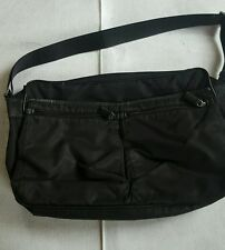 Prada Black messenger bag used