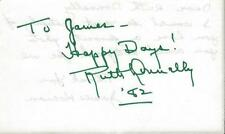 Ruth Donnelly Signed Album Page 1982