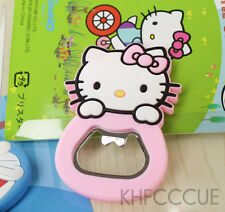 Hello Kitty Bottle Opener Tool Fridge Magnet Ornament Pink K130