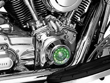 Harley FLHTC Classic 1999-2005,2007-2013Tappet Block Accent Chrome by Kuryakyn