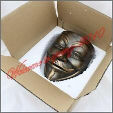 "Resin""V For Vendetta"" Movie New Mask Guy Fawkes Anonymous Halloween Cosplay"