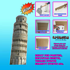 THE LEANING TOWER OF PISA LIFESIZE CARDBOARD CUTOUT STANDEE STANDUP SC222 THE