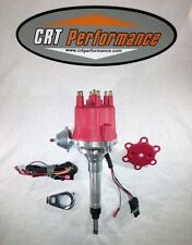 CHEVY STRAIGHT 6 194-216-235 Small Cap PRO SERIES HEI DISTRIBUTOR RED