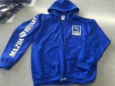 MAZDA ROTARY Blue-Zip HOODIE for R100 RX2 RX3 RX4 RX7
