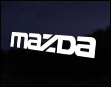 Mazda Logo Full Car Decal Sticker JDM Vehicle Bike Bumper Graphic Funny