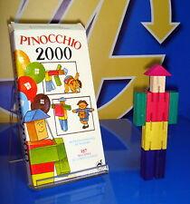 juguete antiguo NUEVO precintado PINOCCHIO 2000-157 millones de combinaciones