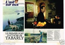 Coupure de presse Clipping 1981  (4 pages) Eric tabarly