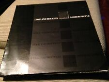 "LOVE AND ROCKETS - MIRROR PEOPLE 12"" MAXI UK BEGGARS BANQUET - GOTH ROCK"