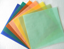 12 x 12 Spring Jewel Gem Color Pastel Translucent Vellum Paper Card Wedding Sage
