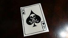 Vietnam Ace of spades death card vinyl die cut war soldiers decal sticker