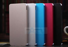 Silver Ultrathin Power Bank 50000mAh 2 USB Battery Charger Pack For Mobile Phone