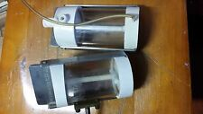 2x Amicon model 402 Reaction chamber with magnetic stirring glands, have cracks
