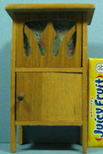 """OLD GERMANY WOODEN RECORD PLAYER, DOLL HOUSE SIZE 4 1/2"""" hi* FREE SHIP* SALE T66"""
