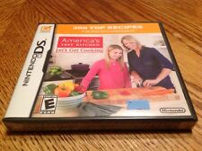 AMERICA'S TEST KITCHEN LET'S GET COOKING NINTENDO DS BRAND NEW SEALED