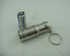 TrustFire 1000Lm mini portable Key chain CREE XM-L T6 LED Flashlight Torch CR123