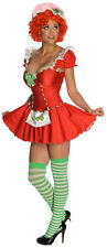 Strawberry Shortcake Womens Halloween Costume NEW sz M 6-10 Dress