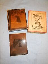 Late 1800s 16 Stanley Dry Plate Glass Photographic Negatives in Original Box
