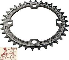 RACEFACE NARROW-WIDE SINGLE 34T X 104MM BLACK ALLOY CHAINRING--NO PACKAGE