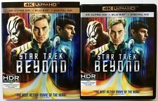 STAR TREK BEYOND 4K ULTRA HD UHD BLU RAY 2 DISC SET + RARE OOP SLIPCOVER SLEEVE