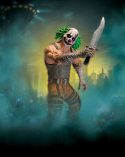 DC: Batman Arkham City series 3: CLOWN THUG WITH KNIFE figure