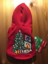 Pet Costume Dog Bret Michaels Pets Rock Christmas Tree Fire Place Hoodie XS