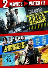 BRICK MANSIONS/GANGSTER CHRONICLES - PAUL WALKER - 2 DVD NEU
