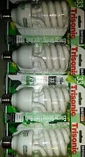 4pcs JUMBO 33/150 Watt CFL Light Bulb, 6500K Daylight INDOOR GROW BULBS