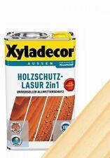 Xyladecor 2in1 Holzschutzlasur farblos 0,75l Holzlasur Lasur Holzschutz