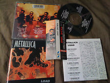 METALLICA / load /JAPAN LTD CD OBI