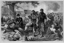 WINSLOW HOMER CIVIL WAR SURGEON AT WORK AT THE REAR DURING ENGAGEMENT SURGEON