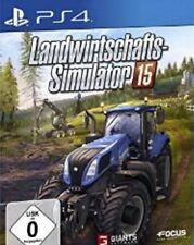 Playstation 4 Landwirtschafts Simulator 15  Deutsch Sehr guter Zustand