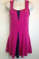 nike dri-fit pleated tennis dress size m