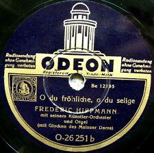 X004/ FREDERIC HIPPMANN-Orgel und Glocken des Mainzer Doms-Weihnachten-Schellack