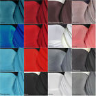 Silk touch 4 way stretch jersey lycra fabric material Q53 Fee P&P