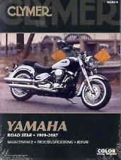 CLYMER SERVICE MANUAL M282-2 YAMAHA XV1600AT ROAD STAR SILVERADO 1999 2000 2001