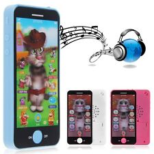 Baby Kid Child Educational Learning Mobile Touch Screen Music Phone Toy Playing