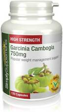 Simply Supplements Garcinia Cambogia 750mg 120 Capsules (E580)
