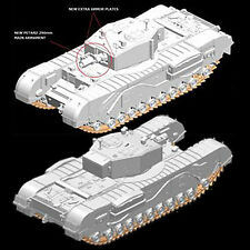 DRAGON 7327 Churchill MkIII Tank AVRE 1:72 Military Model Kit