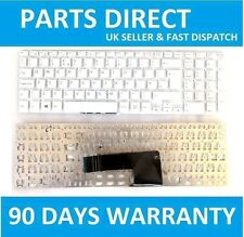 New Genuine SONY VAIO SVF152A29M SVF152C29M KEYBOARD White Replacement UK Layout