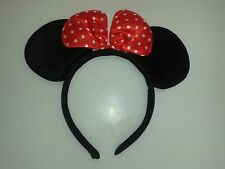 Minnie Mini Mouse Ears Headband Womens Girls Mickey Party Hen Night Fancy Dress