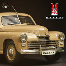 Model Soviet car GAZ M20 POBEDA 1:8 scale Fully assembled 1/8 USSR DeAGOSTINI