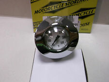 HARLEY DAVIDSON OIL TANK TEMPERATURE GAUGE  FITS XL MODELS 2004-2009 BC32123 - T