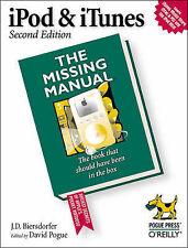 iPod & iTunes: The Missing Manual (Missing Manuals), J.D. Biersdorfer