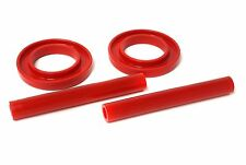 Energy Suspension 83-04 Mustang Front Spring Isolators Upper & Lower (Red)